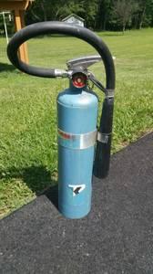 Kidde Powder Blue Vintage 10lb Fire Extinguisher (Gaithersburg) for sale
