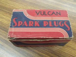 9 Vintage NOS - VULCAN 18-H Spark Plug with Boxes and Packaging (Kasson) for sale
