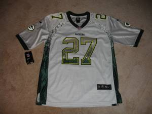 New Eddie Lacy #27 Green Bay Packers Onfield Nike Jersey Stitched 48 (Atco), used for sale