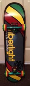 Element Fiberlight complete skateboard/Brazil trucks/Flip wheels NEW (West Orange County (FL) for sale