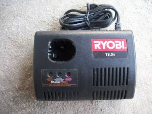 2 RYOBI 18 VOLT CHARGEPLUS+ NI-CAD BATTERY CHARGERS #P110 (WILMINGTON) for sale