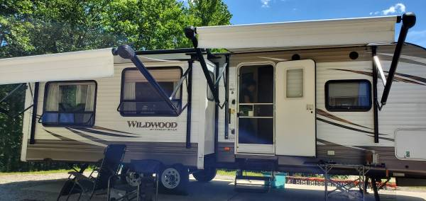 2017 wildwood travel trailer - rvs - by owner - vehicle automotive...