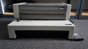 GBC Ibico EP-28 High Power Electric Punch Plastic Comb Binding Machine (Manchester, Maine), used for sale  Boston