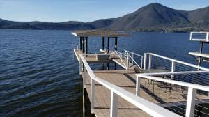 Lakefront home on Clear Lake with private patio & Boat Dock (Clearlake CA) $210 3bd 1400ft<sup>2</sup>