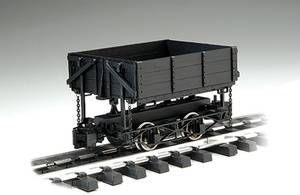 Bachmann G Scale (1:20.3) L Ore Car Wood Side Dump Car Train Set 92503 (Lake Arrowhead) for sale