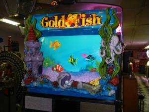 "Williams ""Gold Fish"" Duel LCD screen Hot Button Slot Machine - Hard to for sale"