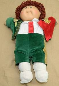 Used, 1980's Cabbage Patch Kids World Travelers Matador Doll Coleco Spain (NORTH BRANCH) for sale