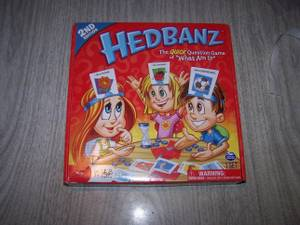 Used, Hedbanz Board Game (clinton twp/ st clair shores) for sale