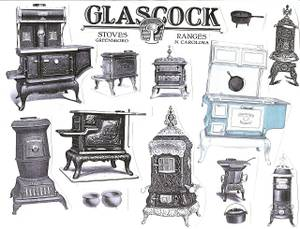 Wanted: Wood & Coal Stove(s) etc made by Glascock Greensboro