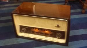 Vintage 1960s NordMende Tirandot C AM/FM Vacuum Tube Radio Germany (Garden Grove) for sale