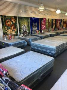 *NEW* _ FULL PillowTop Set $115 _ QUEENS $125 _ KING P-TOP Sets $250 (\ud83d\udd34====== AFFORDABLE MATTRESS ======\ud83d\udd34), used for sale