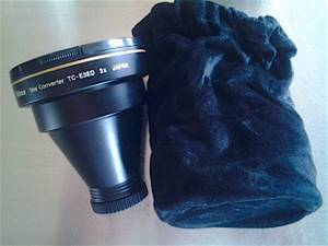 Used, Nikon Teleconverter and Wide angle Converter for Coolpix Cameras (Flanders) for sale