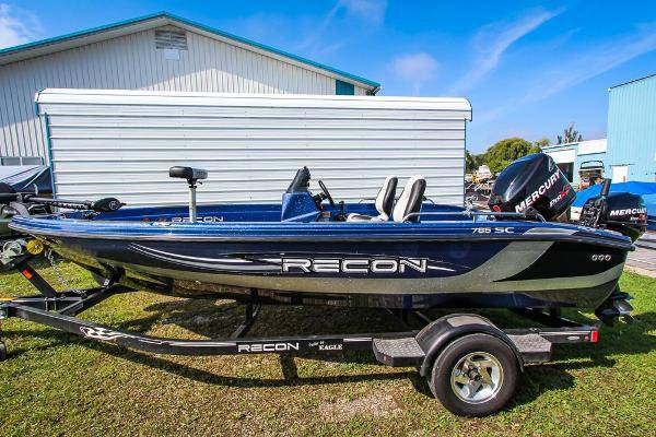 2012 recon bass boat with included trailer fia - boats - by owner -...