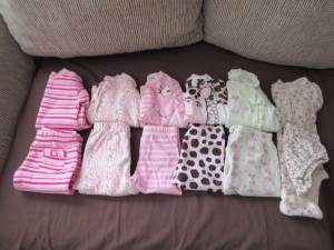 Baby girl's outfits (Elkhart) for sale