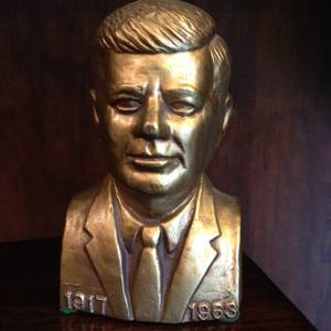 VINTAGE President Kennedy Bust! (Worthington) for sale
