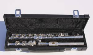 Used, New silver-plated 16 Closed Holes C Key Flute (Yonge & Dundas) for sale  Toronto