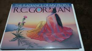 RC GORMAN ART BOOK (HEATH) for sale