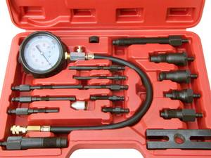 17pcs Professional Diesel Engine Cylinder Compression Tester 1000PSI (Richmond) for sale  Vancouver