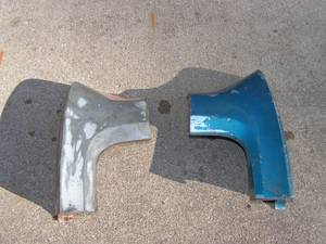 1964-1966 Mustang Quarter Panel Extensions for sale