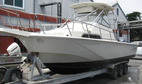 1989 boston whaler outrage 27 ft - boats - by owner - marine sale