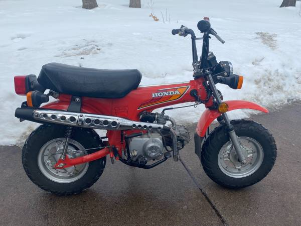 1980 honda ct70 mini trail 70 in great condition with clean title!!!...