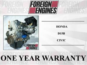 JDM HONDA CIVIC D15B 1.5L ENGINE IMPORTED FROM JAPAN (LYNNWOOD) for sale
