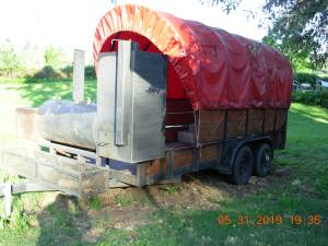 smoker catering trailer (ashland), used for sale