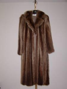 Canadian Raccoon Fur Coat (Western Suffolk), used for sale
