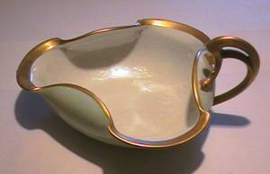 handpainted Limoges dish from 1909 -new low price (Pricetown) for sale