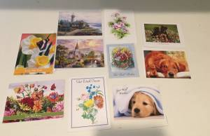 Greeting cards for get well soon ~~~~~~ (Placentia) $5
