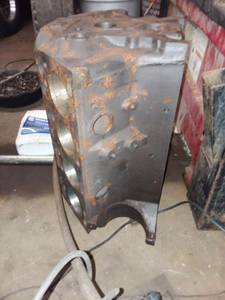 292 Y block Ford engine block (Bloomington) for sale