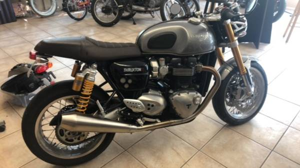 2016 triumph thruxton r - motorcycles/scooters - by owner - vehicle...