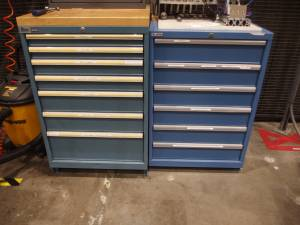 Wanted: Lista or Stanley Vidmar Industrial Cabinets (Spokane) for sale