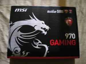 Used, msi MOTHERBOARD 970 GAMING for sale