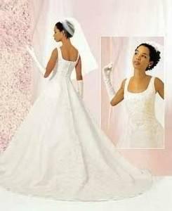 Gorgeous! Candlelight WEDDING DRESS by Oleg Cassini Never Worn w/ tags (Boynton Beach) $375