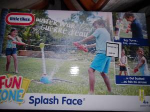 """Little Tikes """"Splash Face"""" Water War Game --New in Box-Half Price--, used for sale"""