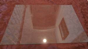 CLEAR GLASS:   20  X 14 (Roseville) $18