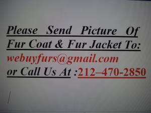 We buy mink fur coat,sable fur coat,fox fur coat for sale  Boston