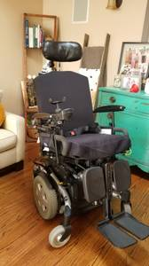 Invacare TDX SP Power Tilt Electric Wheelchair Chair TDXSP (Downey, CA) for sale