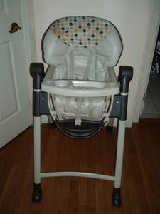 Space Saver Slim Folding Feeding High Chair / Booster Seat / Chair (thornhill) for sale  Toronto