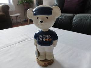 ***US OPEN BEAR STATUE WITH MOVING HEAD*** (NYC) for sale