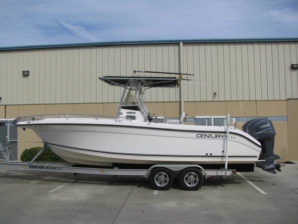 2006 century 2600 cc - boats - by owner - marine sale
