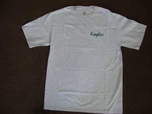 Used, Philadelphia Eagles Embroidered T-Shirt M (South Jersey) for sale