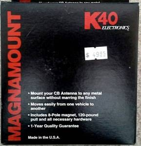 K40 antenna Magnet Mount conversion kit - New (Tricity) for sale  Seattle