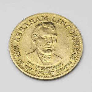 Abraham Lincoln Commemorative Coin (Olympia) for sale