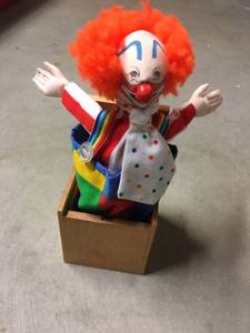 Vintage Jax clown jack in the box (Saco) for sale  Boston