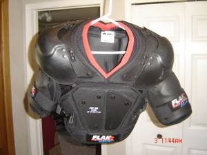 Used, FSP 500 Large Flak Air Armor Bauer (Rochester) for sale