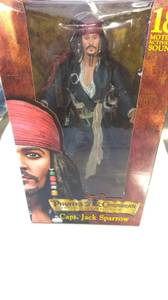 New Capt Jack Sparrow Pirates of the Caribbean Curse of the Black Peal (West Garden Grove) for sale