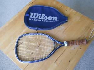 Nice Wilson Racquetball Racket + (North Seattle) for sale