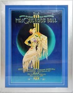Framed 1979 Margo St. James' San Francisco Masquerade Ball (28